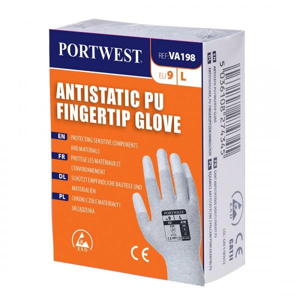 Antistatischer PU Handschuh für Verkaufsautomaten