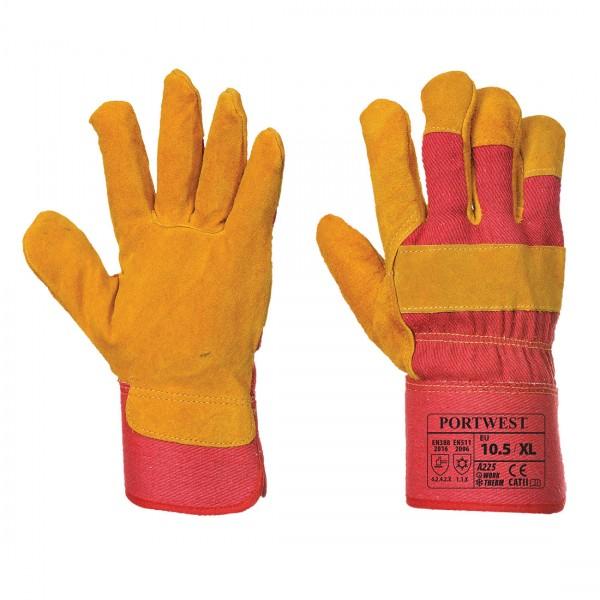 Fleece gefütterter Rigger Handschuh