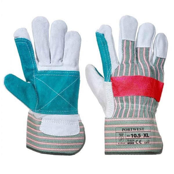 Klassisch Rigger Handschuh mit gedoppelter Handfläche
