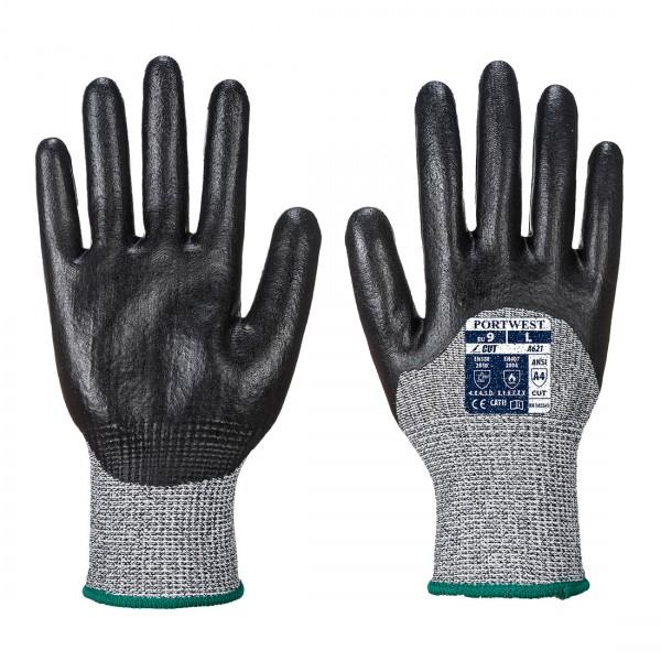 Handschuh mit 3/4 Nitrilschaumbeschichtung