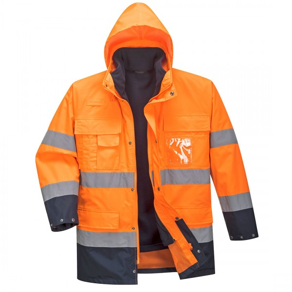 Warnschutz-Jacke Lite 3-in-1