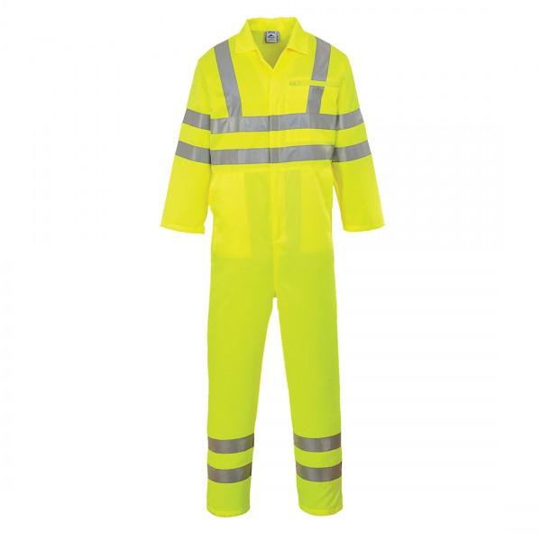 Warnschutz-Overall aus Polyester/Baumwolle