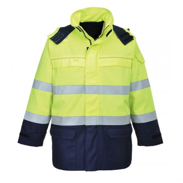Bizflame Störlichtbogen-Warnschutz-Multi-Norm Jacke