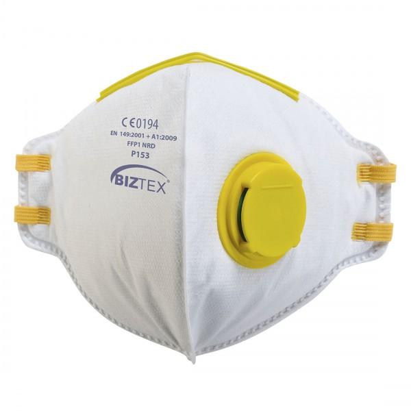 FFP1 Dolomit Faltbare Feinstaubmaske mit Ventil