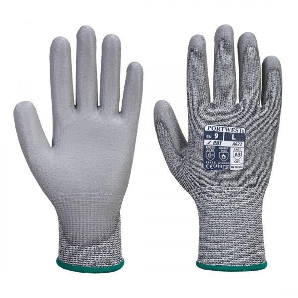MR Cut PU Palm Handschuh