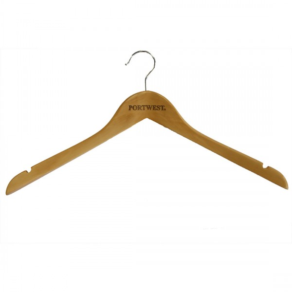 Portwest Kleiderbügel aus Holz