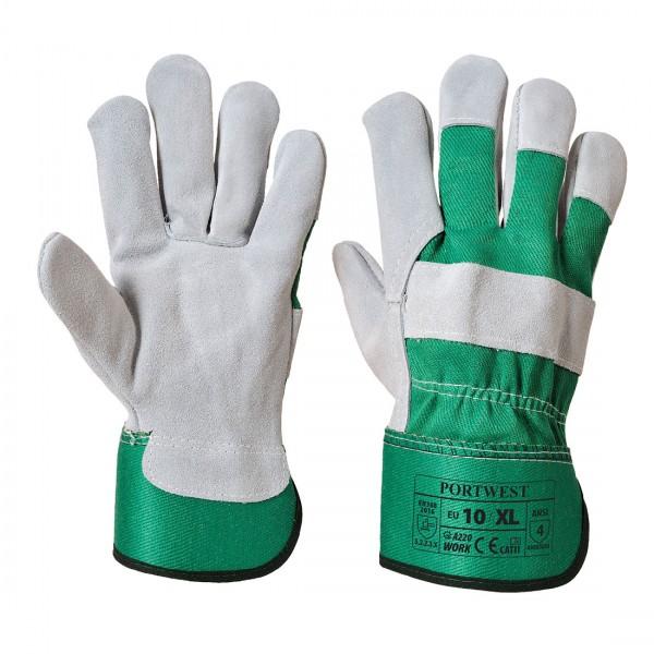 Premium Chrome Rigger Handschuh