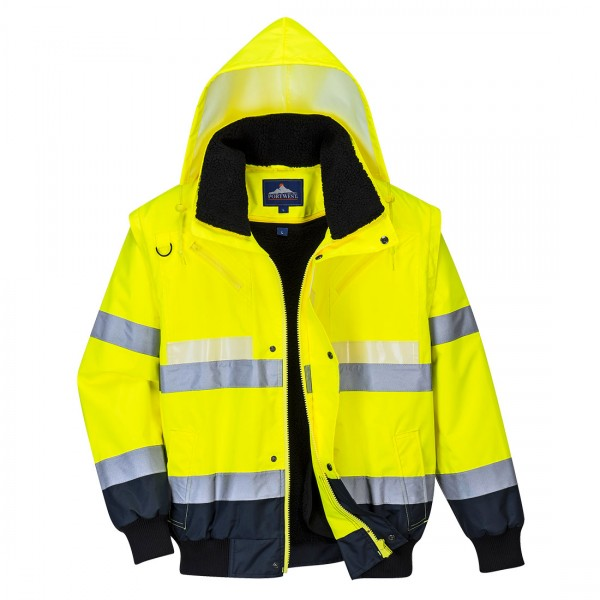 Glowtex™ 3-in-1 Pilotjacke