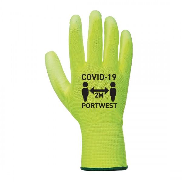 Covid PU Handschuh