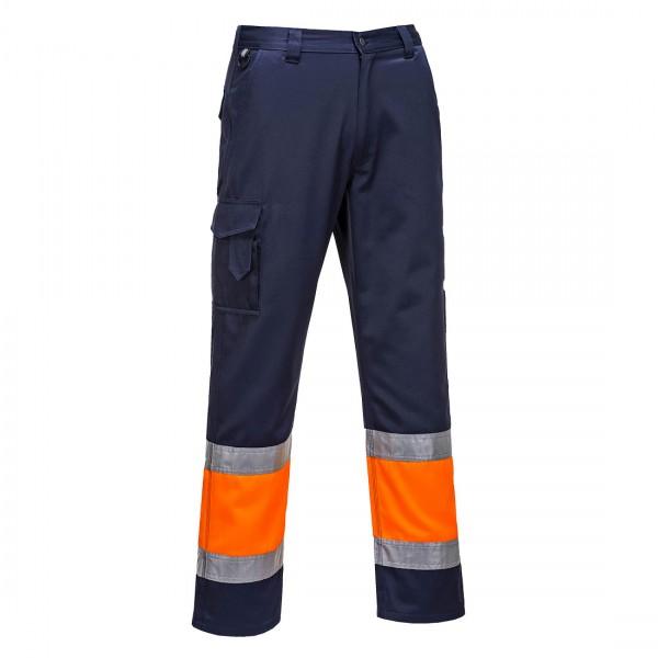 2-farbige Warnschutz-Combat Hose