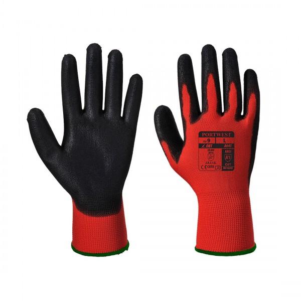PU Handschuh Rot