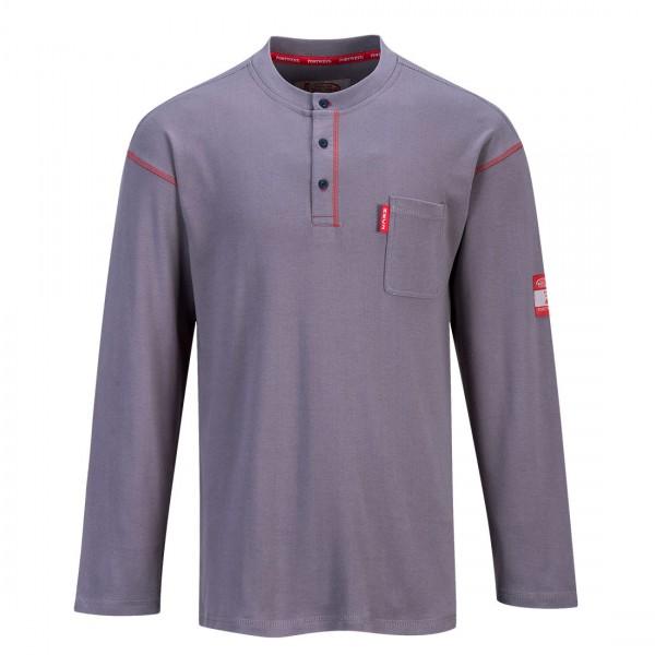 Bizflame Henleykragen-Shirt