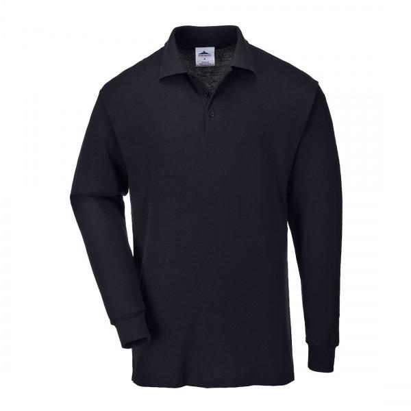 Genoa Langarm Polo-Shirt