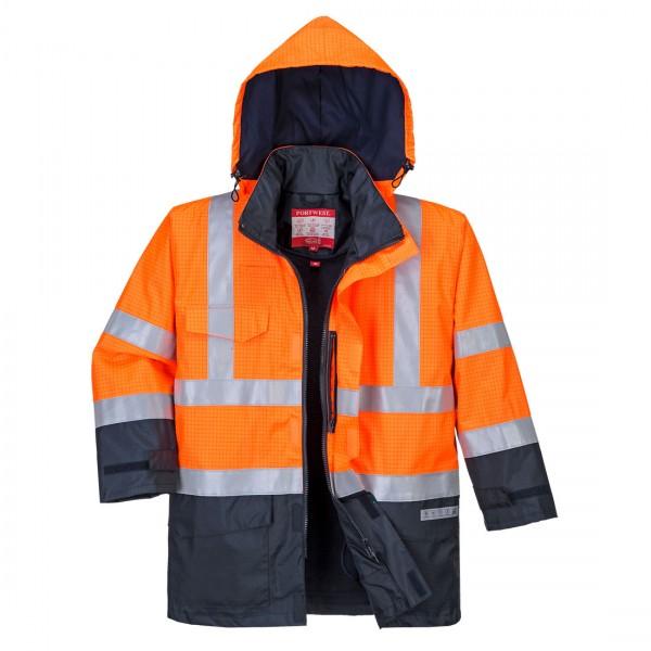Bizflame Regen Warnschutz Multi-Norm Jacke