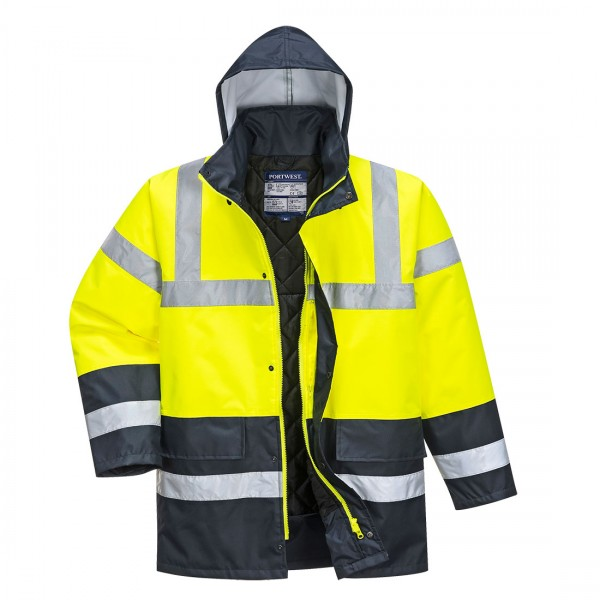 Warnschutz Kontrast Traffic-Jacke