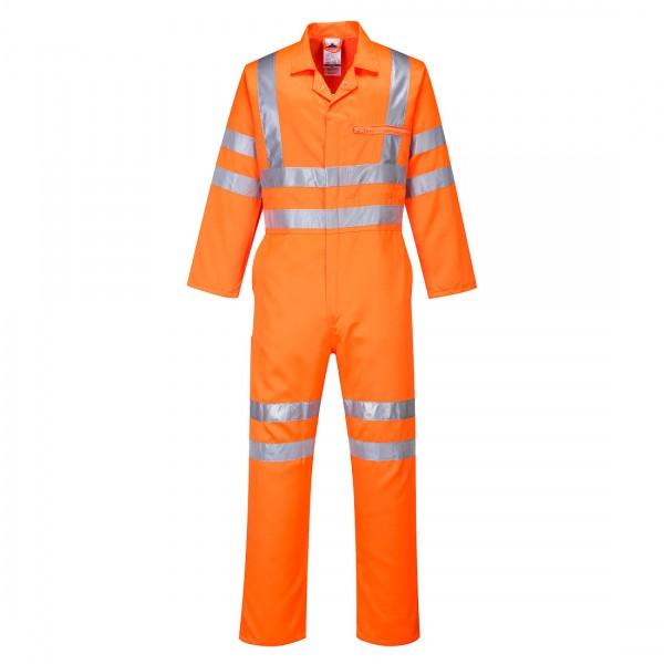 Warnschutz Polyester-Baumwoll Overall RIS