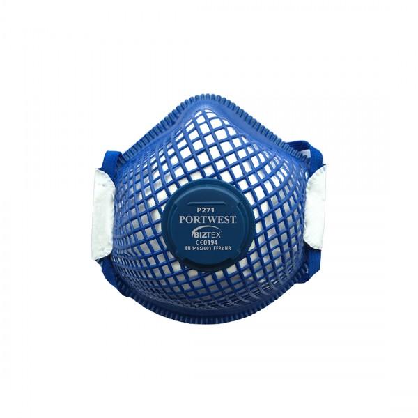 FFP2 ERGONET Dolomit Feinstaubmaske mit Ventil