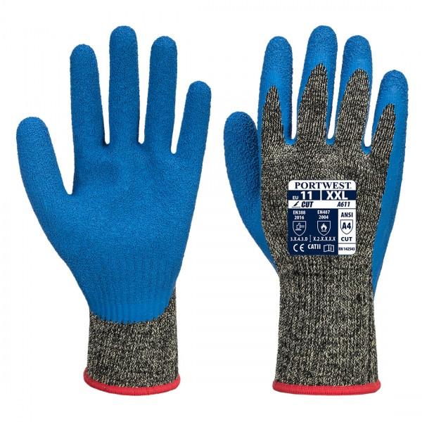 Aramid HR Schnittschutz Latex Handschuh