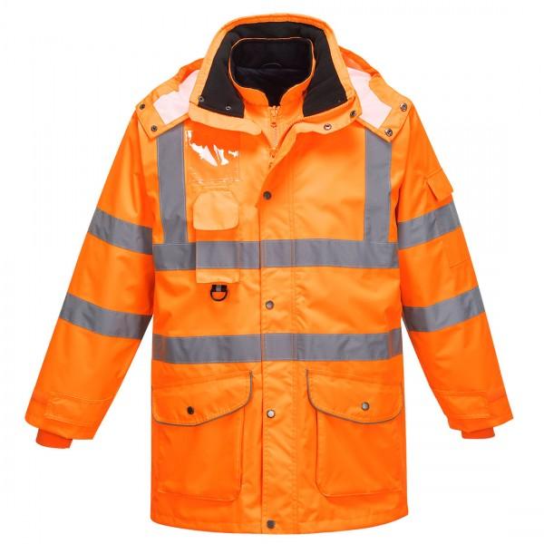 Warnschutz 7-in-1 Verkehrs-Jacke