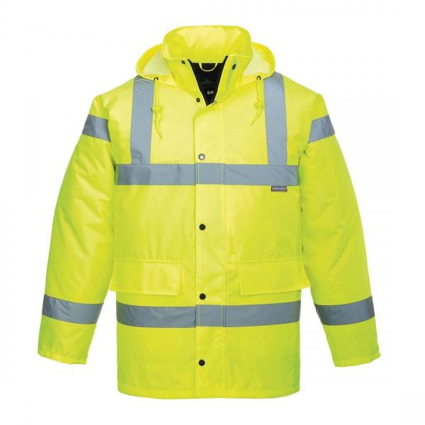 Atmungsaktive Warnschutz-Jacke