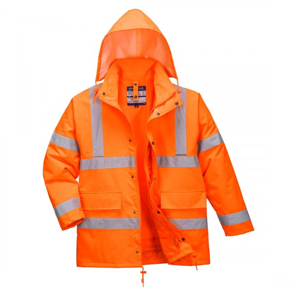 Warnschutz-Verkehrs-Jacke 4-in-1