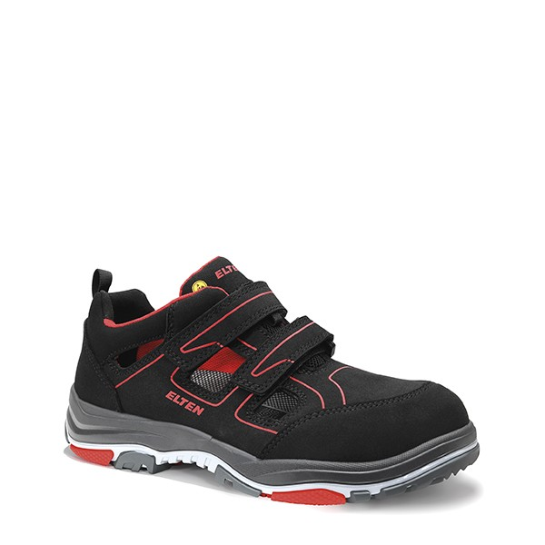 Sicherheitssandale ANTHONY red Easy ESD S1P Typ 1