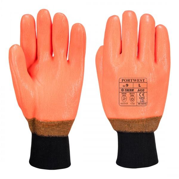 Wetterbeständiger Warnschutz Handschuh