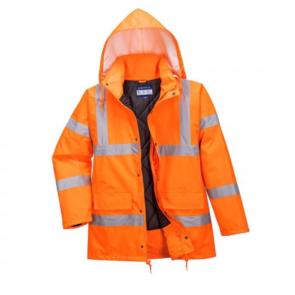Atmungsaktive Warnschutz-Jacke RIS