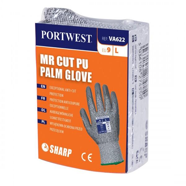 MR Cut PU Palm Handschuh für Verkaufsautomaten