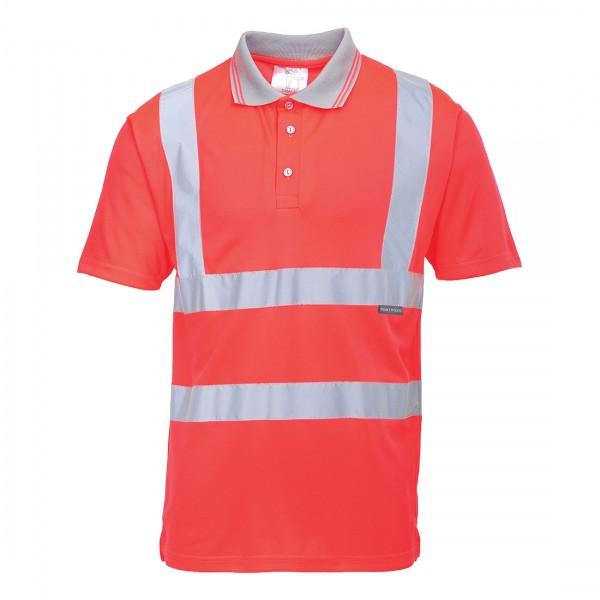 Warnschutz Kurzarm Polo Shirt