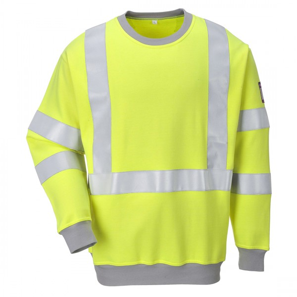 Flammhemmendes antistatisches Warnschutz-Sweatshirt
