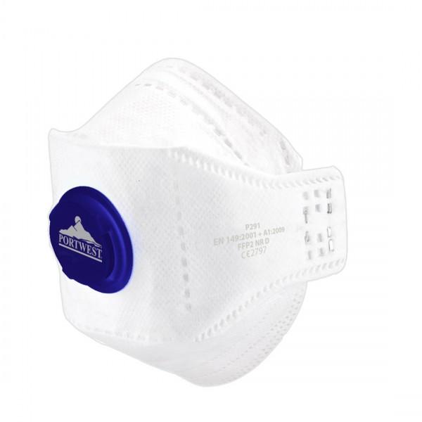 EAGLE FFP2 Dolomit Faltbare Feinstaubmaske mit Ventil