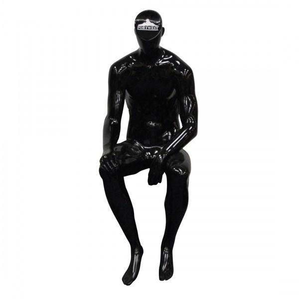 Sitzendes Mannequin