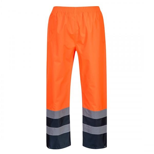 Zweifarbige Warnschutz-Hose