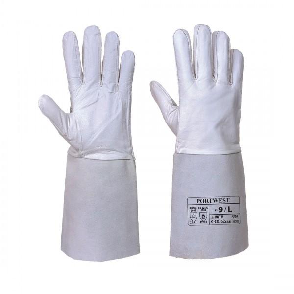 Premium Tig Schweißer-Stulpenhandschuh