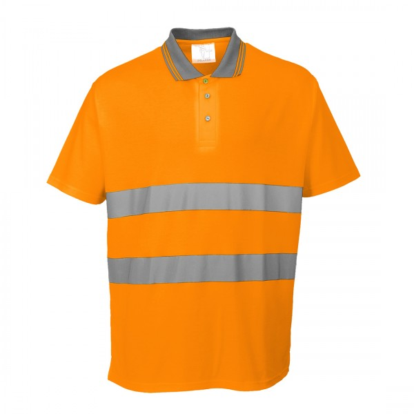 Baumwoll Komfort Poloshirt