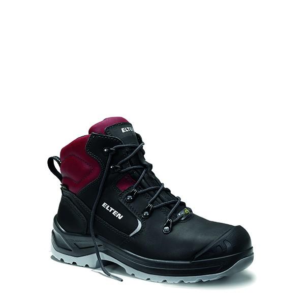 Damen-Sicherheitsschnürstiefel LENA GTX black-red Mid ESD S3 CI