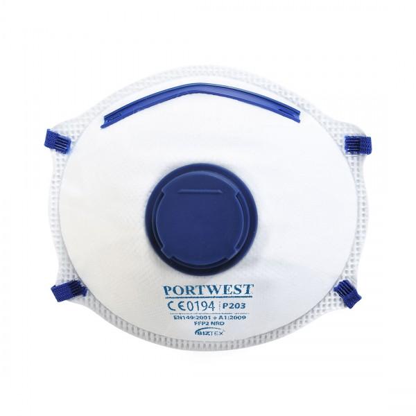 FFP2 Dolomit Feinstaubmaske mit Ventil
