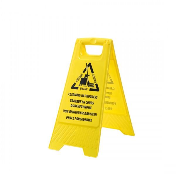 Warnschild : Bodenreinigung